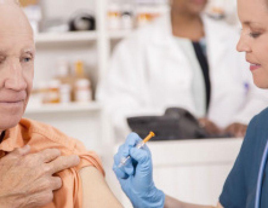 Grippe: Immenser Schutzeffekt