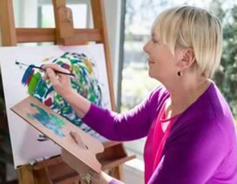 Kunsttherapie – Mit Kunst gegen Demenz