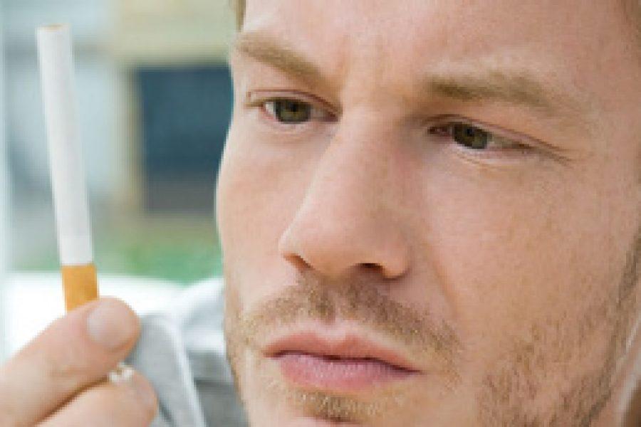 Rauchen: Vor 45 loskommen vom Glimmstängel