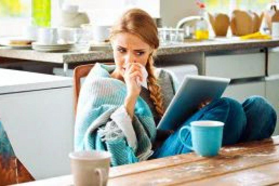 Studie: Kann eine Erkältung vor Grippe schützen?